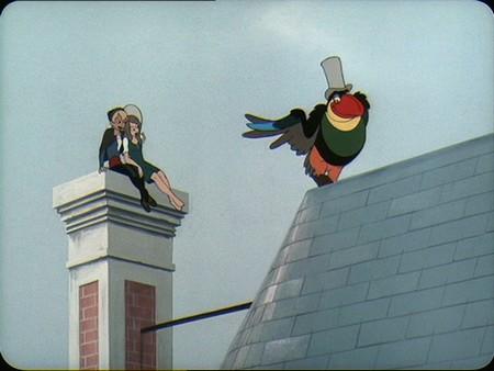 Le cin club des korrigans le roi et l 39 oiseau 1979 paul grimault et jacques pr vert merci - Coloriage le roi et l oiseau ...
