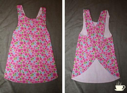 Patron robe fille gratuit facile – Des vêtements élégants pour tous ... d4f85fa2552