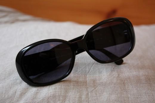 e32eecd04df1e J ai perdu mes lunettes de soleil Chanel 5113 Camelia