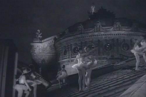 sur les toits de l'Opéra Garnier !