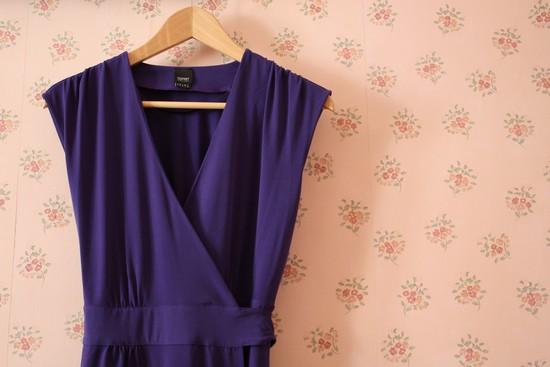Couture robe facile portefeuille