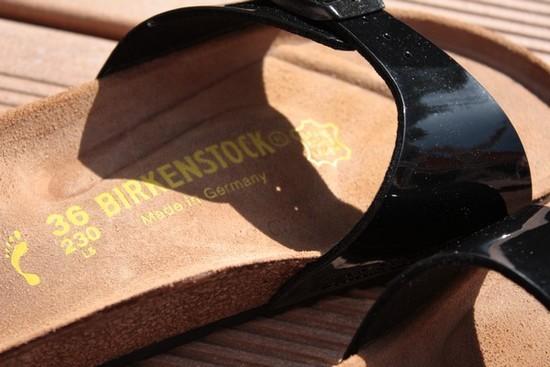birkenstock madrid vernis noir