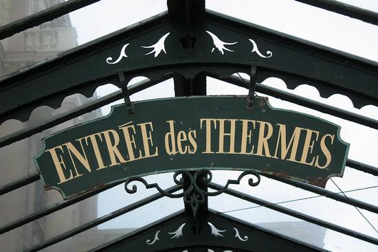 entrée des thermes marins de Saint Malo