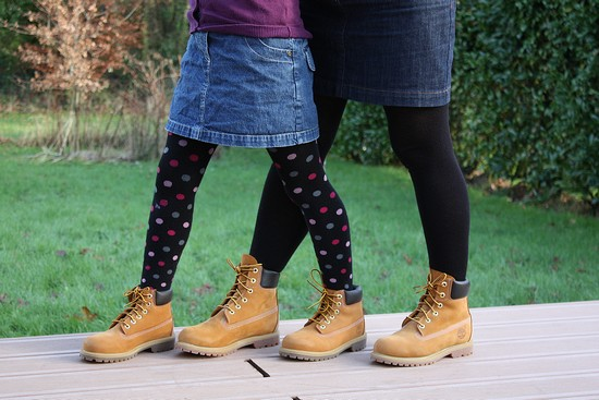fille timberland
