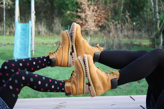 style vestimentaire femme avec timberland
