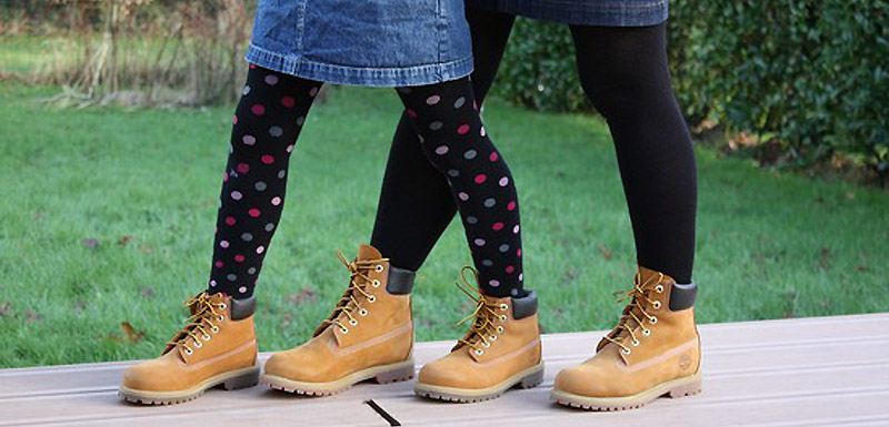 chaussures timberland fille