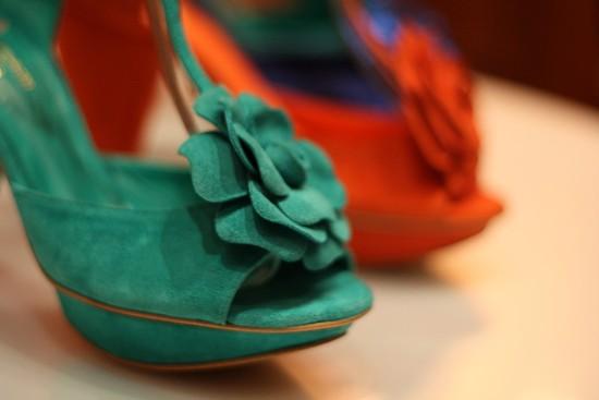 chaussures André - salomés Violette