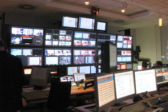 visite france télévision - la régie de france 2