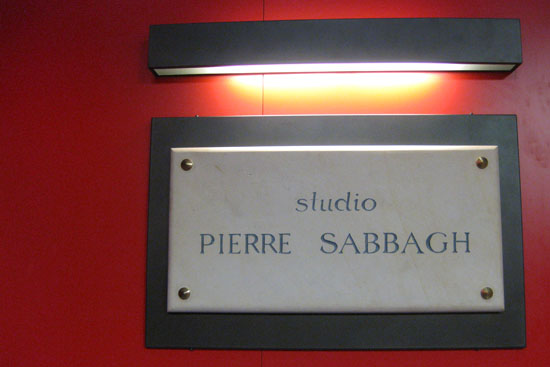 visite france télévisions - studio pierre sabbagh