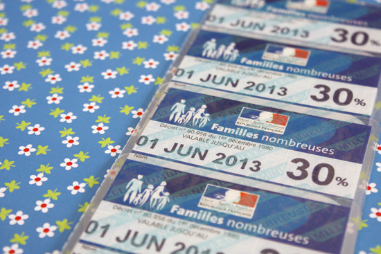 carte famille nombreuse perdue J'ai attendu longtemps ma carte de famille nombreuse SNCF