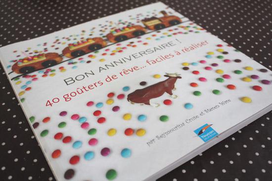 livre bon anniversaire - 40 goûters de rêve
