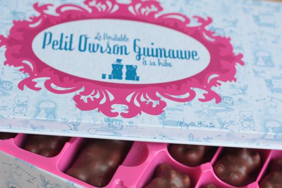 petit ourson guimauve, by Mzelle Fraise