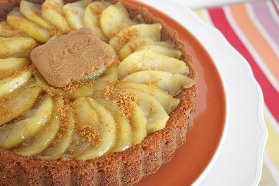 gâteau renversé pommes/speculoos