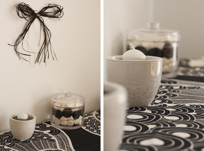 40 ans d co de f te en noir et blanc merci pour le chocolat. Black Bedroom Furniture Sets. Home Design Ideas