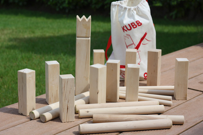 nous on kiffe le kubb jeu viking d 39 ext rieur en bois offert par naturiou merci pour le. Black Bedroom Furniture Sets. Home Design Ideas