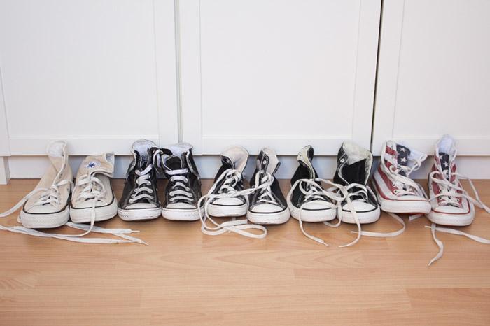 All Stars ☆ baskets Converse pour toute la famille