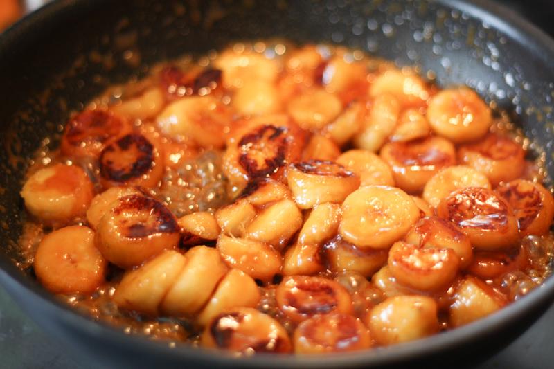 Verrines palets bretons banane salidou (pour la recette, cliquez sur l'image)