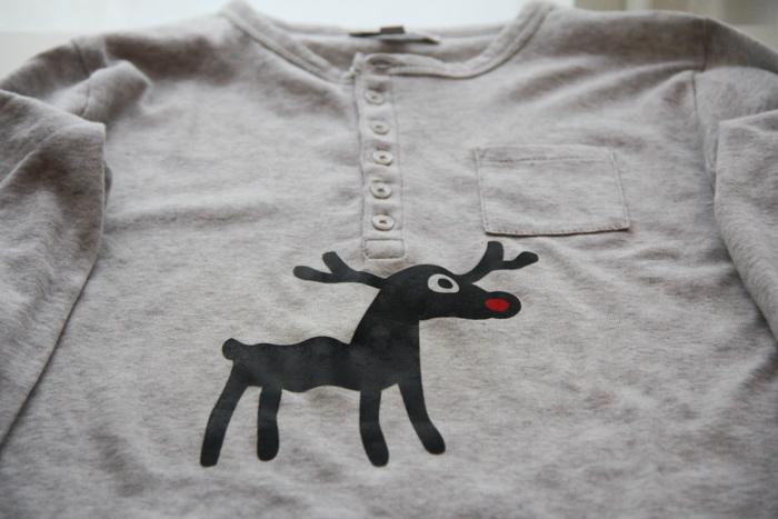 DIY pyjama de Noël