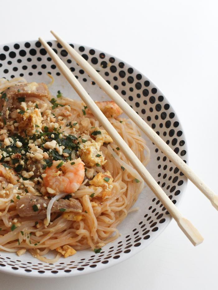 Pad thaï aux crevettes (pour la recette cliquez sur l'image)