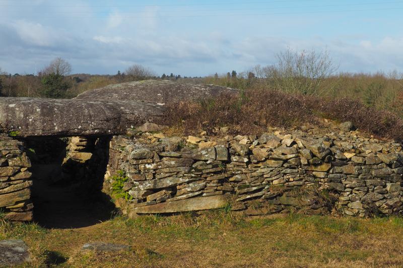 dolmens larcuste colpo morbihan bretagne