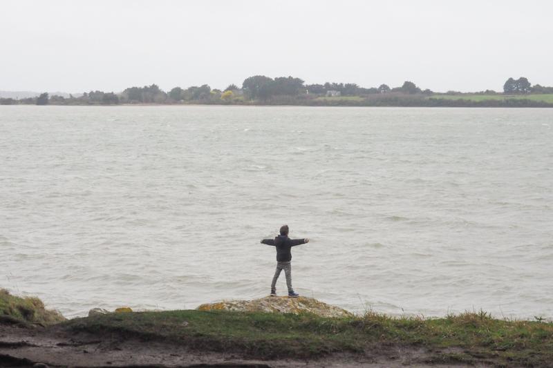 la mer en hiver - montsarrac golfe du morbihan