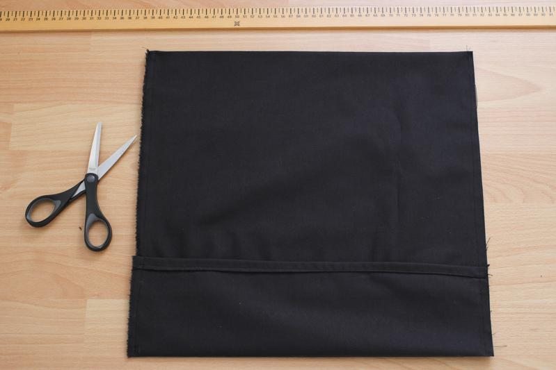 housse coussin portefeuille brodé ancre marine (pour le DIY, cliquez sur l'image)