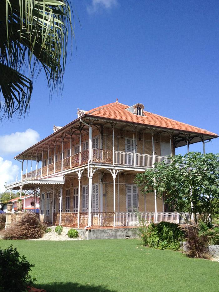 Guadeloupe - Grande Terre - Maison Zevallos