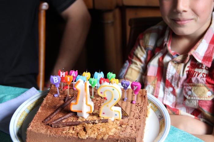12 Ans Anniversaire Titou Merci Pour Le Chocolat