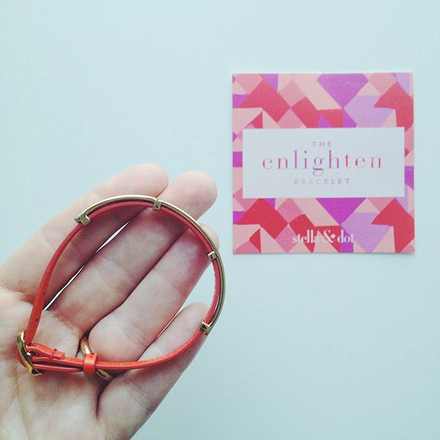 bracelet enlighten stella & dot - every mother counts