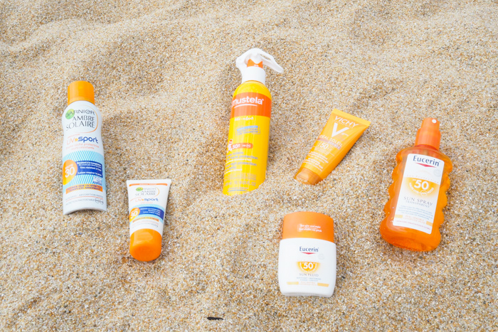 protection solaire plage