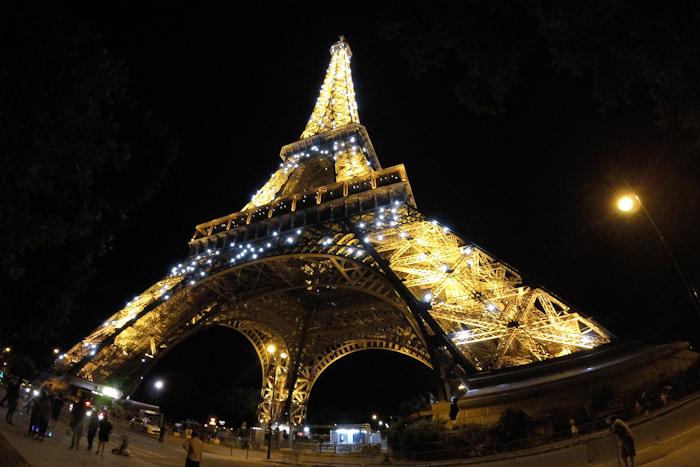 Tour Eiffel GoPro Tour de France