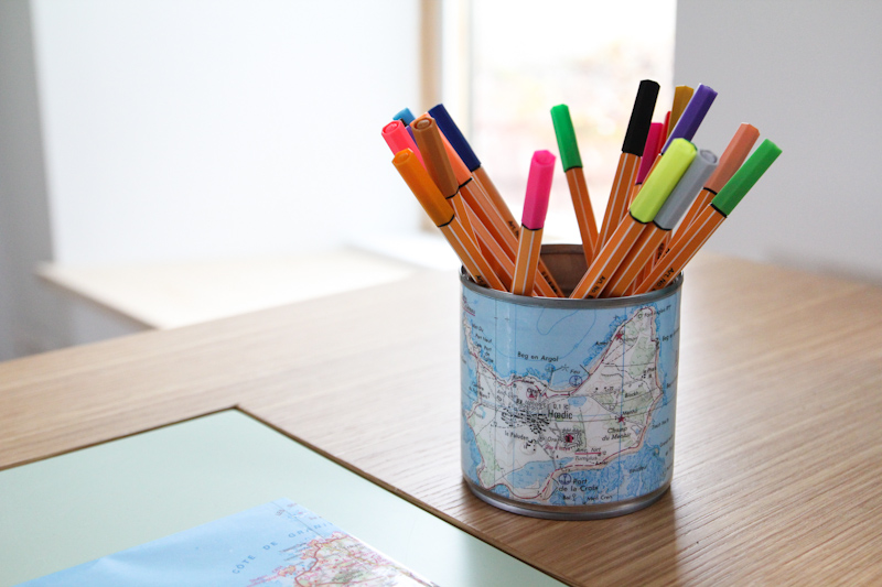 diy un pot crayon carte de bretagne merci pour le chocolat. Black Bedroom Furniture Sets. Home Design Ideas