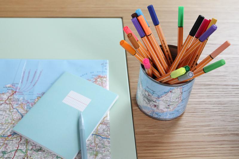diy un pot crayon carte de bretagne merci pour le chocolat. Black Bedroom Furniture Sets. Home Design Ideas