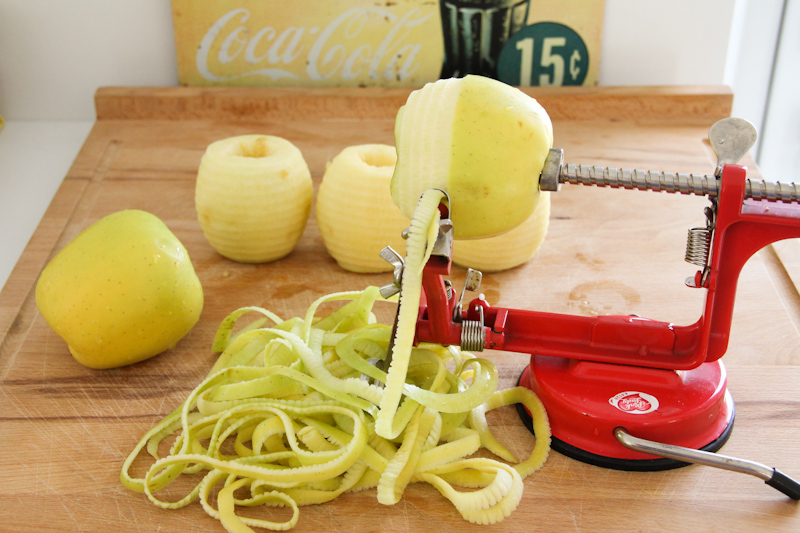 recette pommes au cidre et à la vanille (cliquez sur l'image)