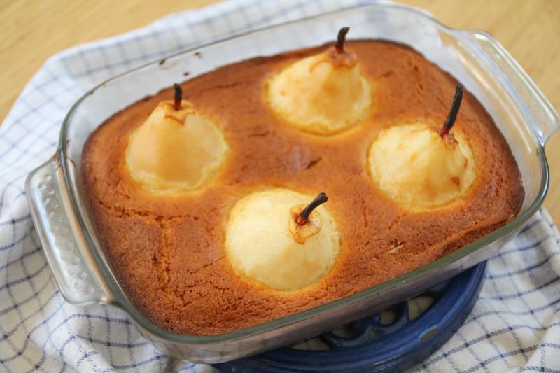 recette gâteau poires entières caramel beurre salé (via wonderfulbreizh.fr)