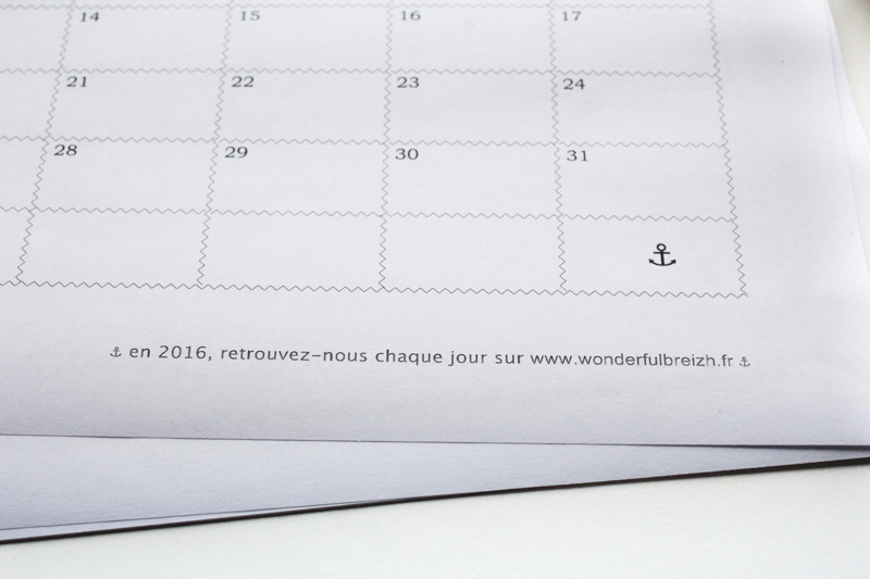 DIY calendrier 2016 customiser (via wonderfulbreizh.fr)
