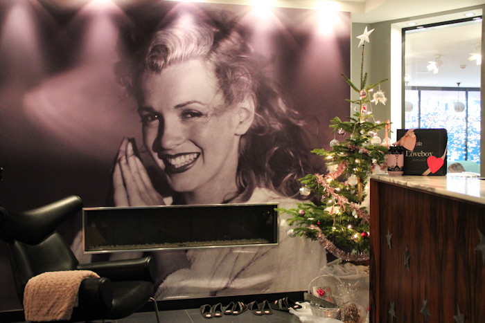 Marilyn Monroe, Le Platine Hôtel - Paris