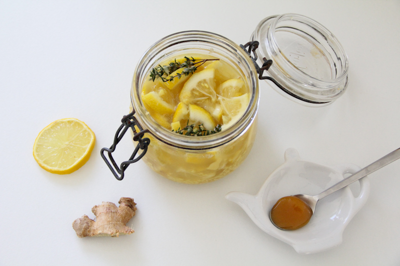 recette potion magique citron miel gingembre thym (via mercipourlechocolat.fr)