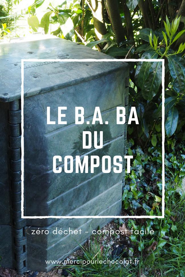 LE B.A. BA DU COMPOST - compost facile - zéro déchet