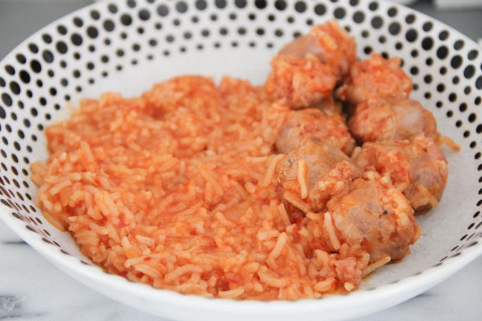 recette rougail saucisses au companion moulinex