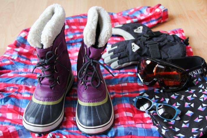 préparation affaires de ski