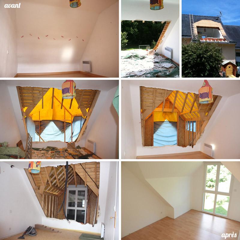 Rénovation chambre enfant : avant - après (via wonderfulbreizh.fr)