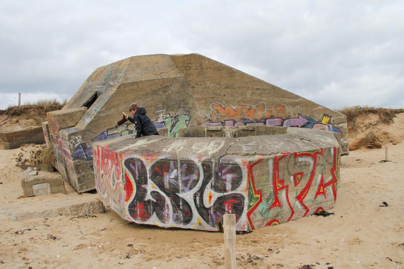 Bunker (blockhaus) de Locmariaquer (via wonderfulbreizh.fr)