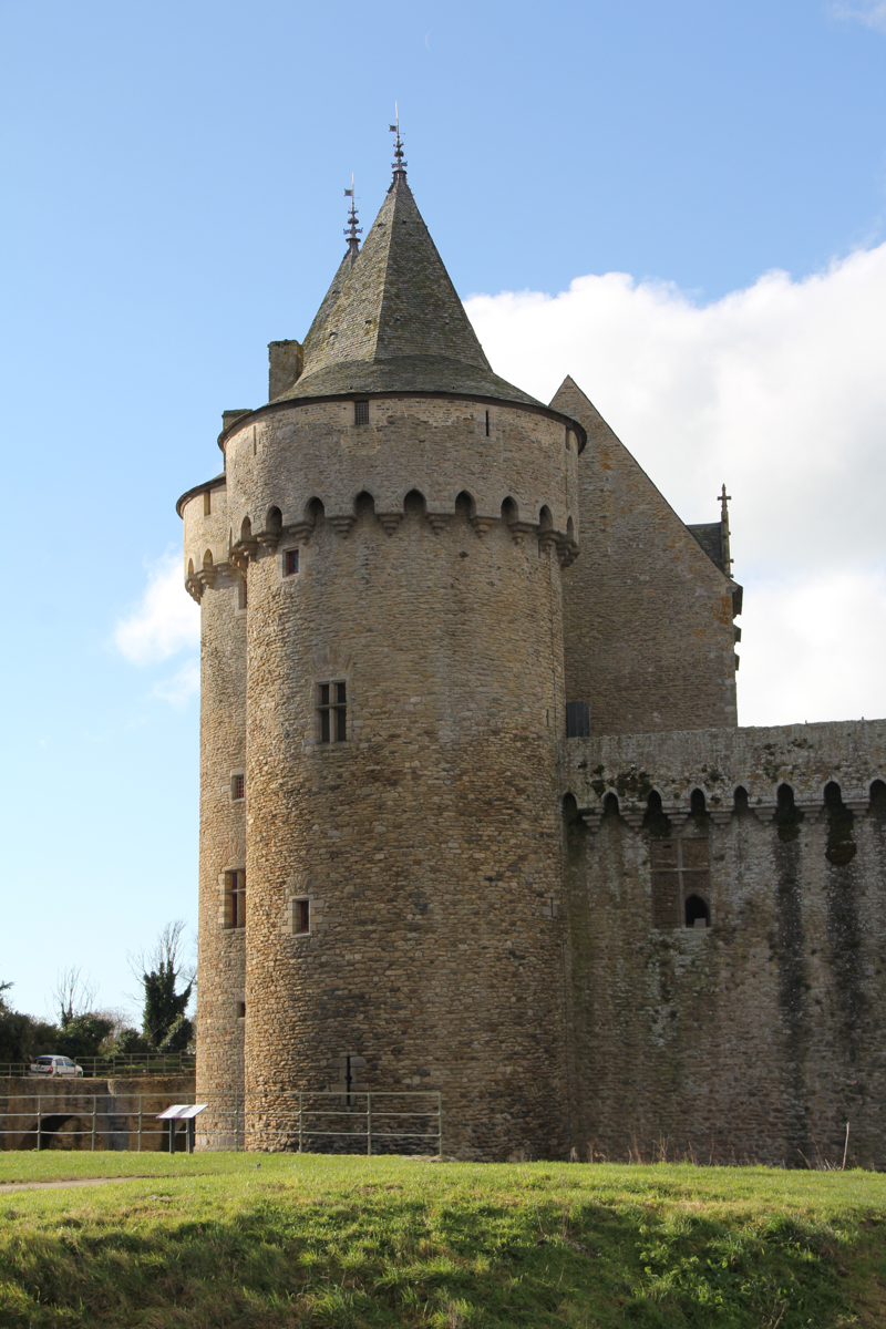 Château de Suscinio, presqu'île de Rhuys, Morbihan (via wonderfulbreizh.fr)