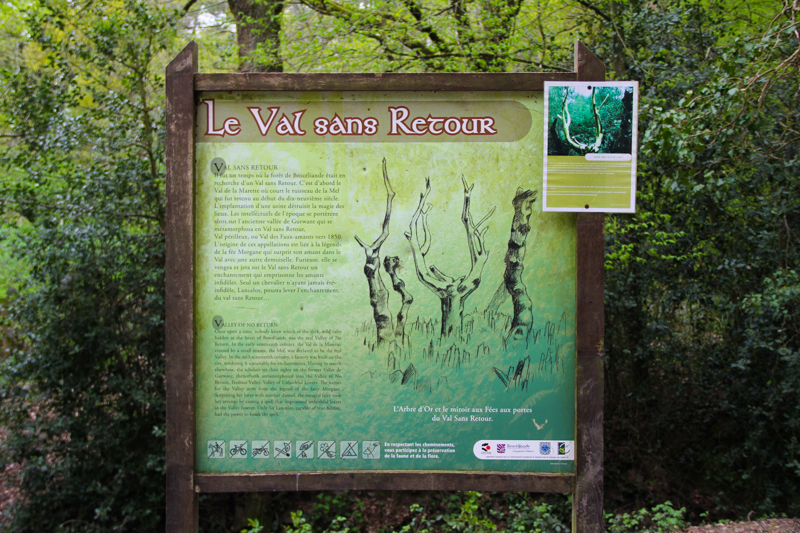 Le Val sans Retour, forêt de Brocéliande, Tréhorenteuc (via wonderfulbreizh.fr)