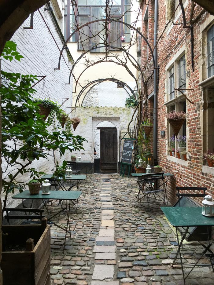Vlaeykensgang Anvers Antwerp