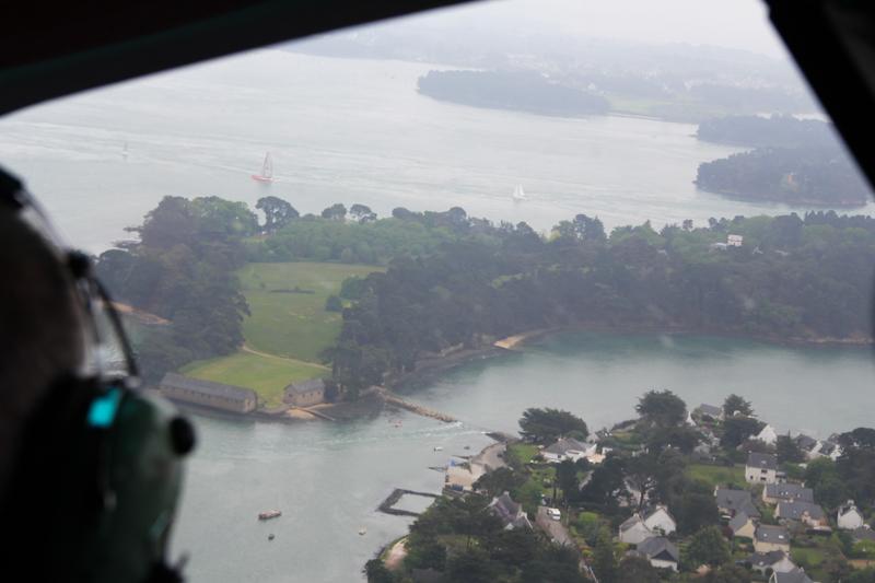 Survol Golfe du Morbihan en hélicoptère (via wonderfulbreizh.fr)