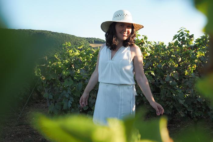 Jura - dans les vignes