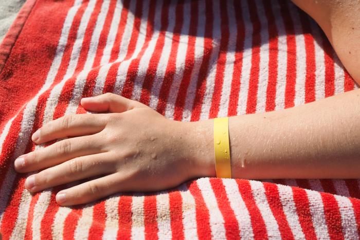 bracelet solaire Daylong Kids Galderma