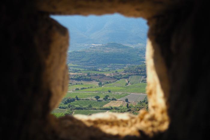 vacances Corbières 2016 - château d'Aguilar